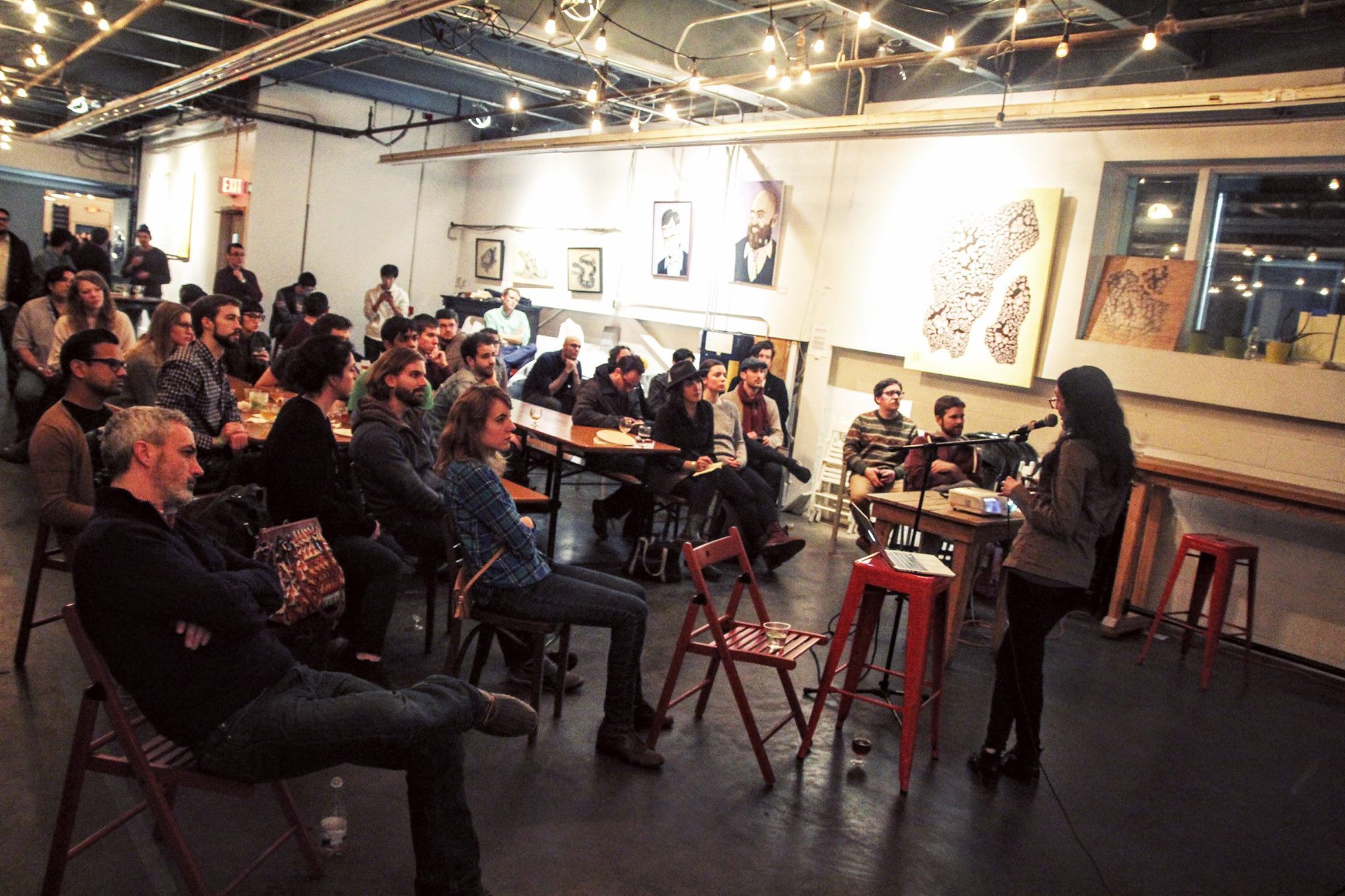 January 2016 Tech Poetics Meetup