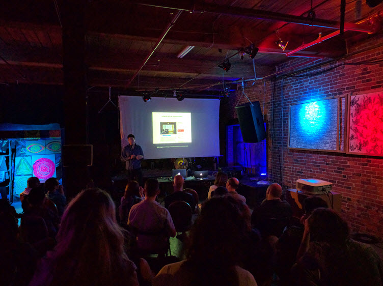September 2016 Boston Tech Poetics Meetup