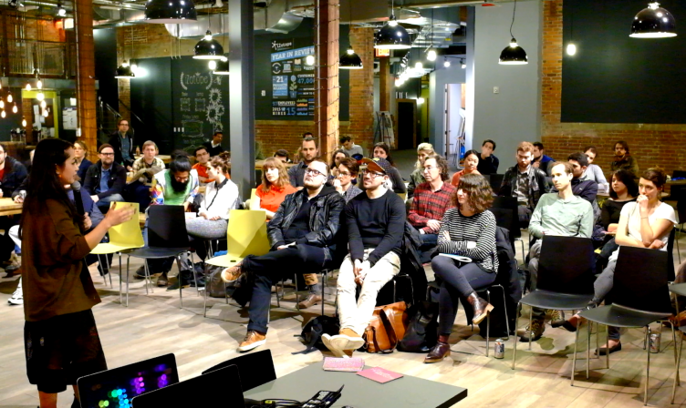 March 2016 Boston Tech Poetics Meetup